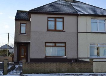 Thumbnail 3 bed semi-detached house for sale in 16 Castle Road, Ardrossan