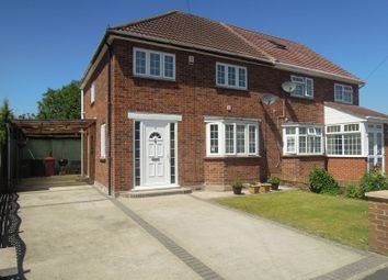 Thumbnail 3 bed semi-detached house to rent in Stanton Way, Langley, Slough