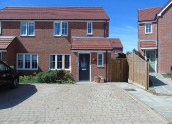 Thumbnail 3 bed semi-detached house for sale in Wood Sage Way, Stone Cross, Pevensey