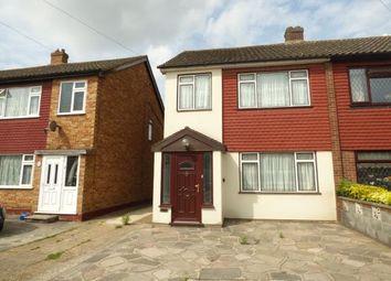 Thumbnail 3 bedroom semi-detached house for sale in Stoke Road, Rainham