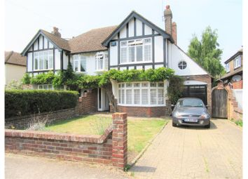 Thumbnail 3 bed semi-detached house for sale in Highfield Close, Canterbury