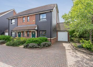 Thumbnail 3 bed semi-detached house for sale in Lillywhite Road, Westhampnett, Chichester