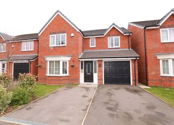 Thumbnail 4 bed detached house for sale in Greenwood Close, Audenshaw, Manchester