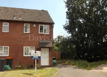Thumbnail 2 bedroom end terrace house for sale in Mill Heath, Off Pen-Twyn Lane, Newport.