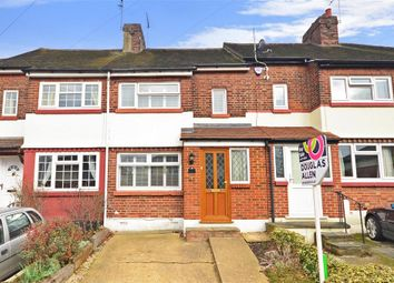 Thumbnail 3 bed terraced house for sale in Crescent Road, Warley, Brentwood, Essex