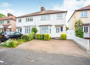 Thumbnail 3 bed semi-detached house for sale in Queen Marys Avenue, Watford