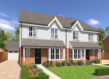 Thumbnail 3 bed semi-detached house for sale in Rye Road, Hawkhurst, Cranbrook