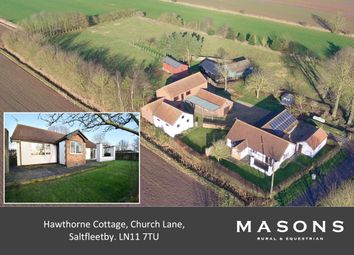 Thumbnail 4 bed detached bungalow for sale in Church Lane, Saltfleetby, Louth