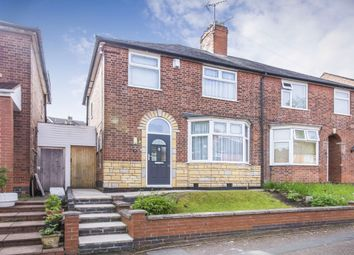 Thumbnail 3 bed semi-detached house for sale in Mayflower Road, Evington, Leicester