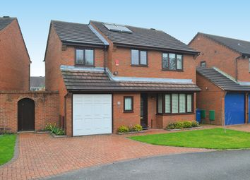 Thumbnail 4 bed detached house for sale in Richmond Drive, Lichfield