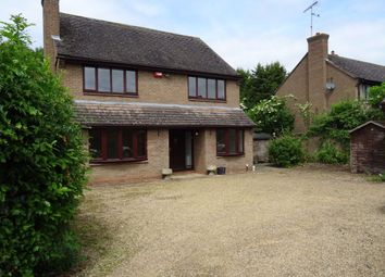 Thumbnail 4 bed detached house to rent in Holywell Way, Longthorpe, Peterborough