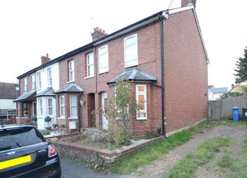 Thumbnail 2 bed end terrace house for sale in New Road, Blackwater, Camberley
