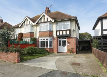 Thumbnail 3 bed semi-detached house for sale in Foreland Avenue, Cliftonville, Margate