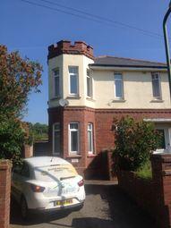 Thumbnail 1 bed flat to rent in Headland Grove, Preston, Paignton