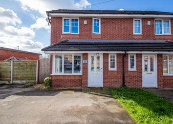 Thumbnail 2 bed semi-detached house for sale in Moss Lane, Platt Bridge, Wigan