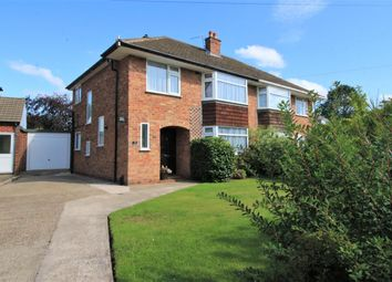 Thumbnail 3 bed semi-detached house for sale in Brooklet Road, Heswall, Wirral