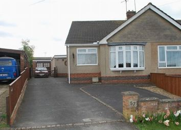Thumbnail 3 bedroom semi-detached bungalow for sale in Rawley Crescent, Duston, Northampton