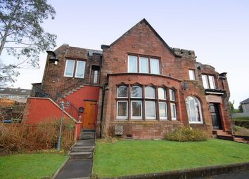 Thumbnail 4 bed flat for sale in Mansewood Drive, Dumbarton, West Dunbartonshire