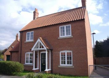 Thumbnail 3 bed detached house to rent in Old Grammar School Way, Wragby, Market Rasen