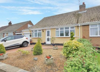 Thumbnail 3 bed semi-detached bungalow for sale in Layland Road, Skelton-In-Cleveland, Saltburn-By-The-Sea