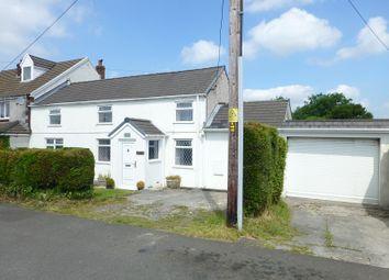 Thumbnail 3 bed semi-detached house to rent in Leyshon Road, Gwaun Cae Gurwen, Ammanford, Carmarthenshire.