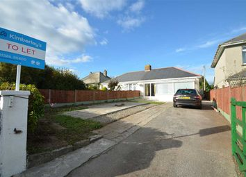 Thumbnail 2 bed bungalow to rent in Mongleath Road, Falmouth