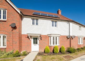 Thumbnail 3 bed terraced house for sale in The Burrows, Ashford, Kent