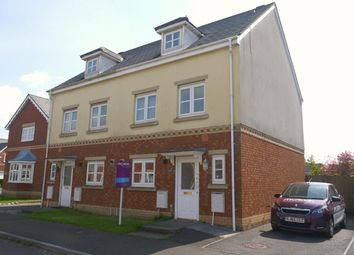 Thumbnail 3 bed town house to rent in Ger Y Nant, Birchgrove, Swansea