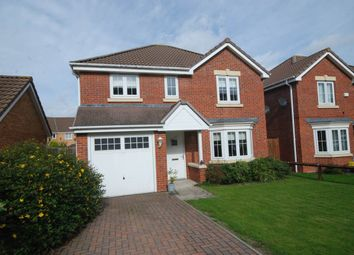 Thumbnail 4 bed detached house for sale in Bicester Grove, Hebburn