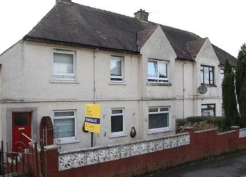 Thumbnail 2 bed flat for sale in Mathie Crescent, Gourock, Inverclyde