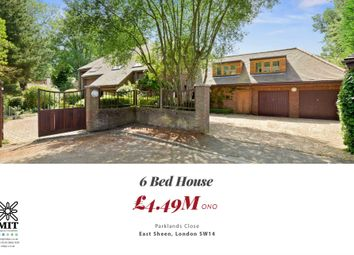 Thumbnail 6 bed detached house for sale in Parklands Close, London