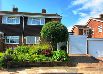 Thumbnail 4 bed semi-detached house for sale in Canon Close, Rochester