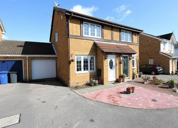 Thumbnail 2 bed semi-detached house to rent in Beaufort Close, Chafford Hundred, Grays