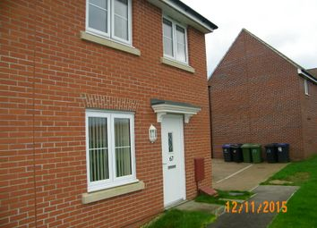 Thumbnail 3 bed semi-detached house to rent in Hawthorn Road, Melksham, Melksham, Wiltshire