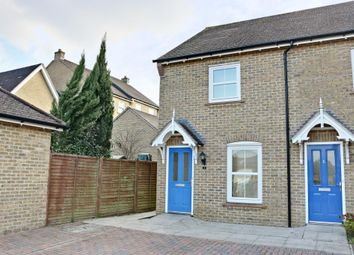 Thumbnail 2 bed end terrace house for sale in Warnford Grove, Sherfield-On-Loddon, Hook