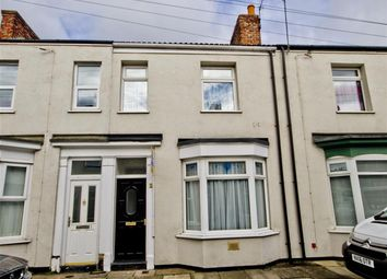 Thumbnail 2 bed terraced house for sale in Craggs Street, Stockton-On-Tees