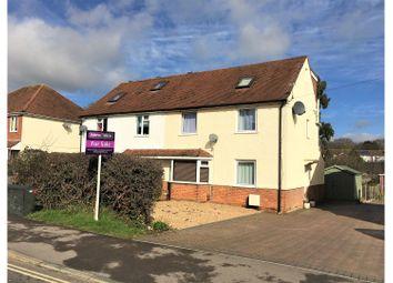 Thumbnail 5 bedroom semi-detached house for sale in Gudge Heath Lane, Fareham