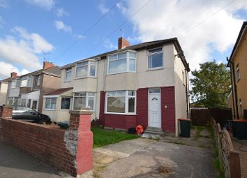 Thumbnail 3 bed semi-detached house for sale in Moorland Avenue, Newport