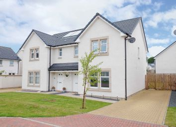 Thumbnail 3 bed semi-detached house for sale in Fultons Crescent, Fenwick, East Ayrshire