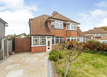 Thumbnail 3 bed semi-detached house for sale in Bernel Drive, Shirley, Croydon, Surrey
