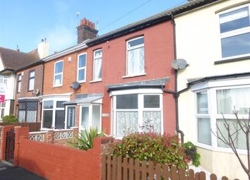 Thumbnail 3 bed terraced house to rent in Fronks Road, Dovercourt, Harwich
