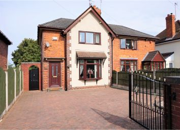 Thumbnail 3 bedroom semi-detached house for sale in Roberts Road, Walsall