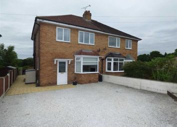 Thumbnail 3 bed semi-detached house for sale in Cresswellshaw Road, Alsager, Stoke-On-Trent