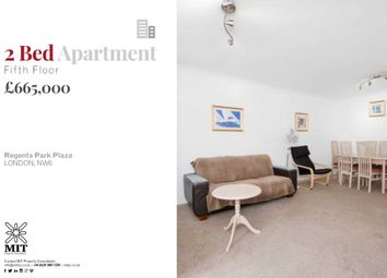 Thumbnail 2 bedroom flat for sale in Kilburn Priory, London