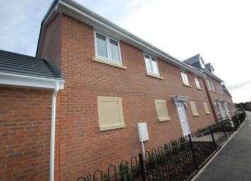 Thumbnail 2 bed flat to rent in Saw Mill Way, Burton Upon Trent, Staffordshire