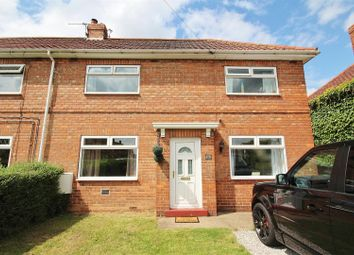 Thumbnail 3 bed semi-detached house for sale in West Close, Newport, Brough