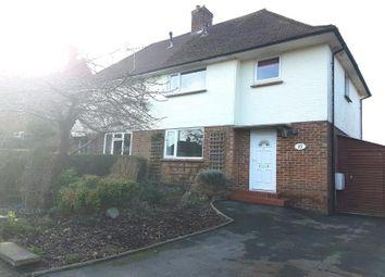 Thumbnail 3 bedroom semi-detached house to rent in Huntington Road, Coxheath, Maidstone, Kent