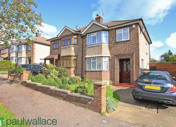 Thumbnail 3 bedroom semi-detached house for sale in Graham Avenue, Broxbourne
