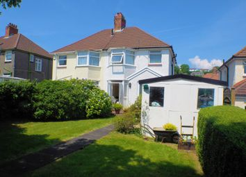 3 bed semi-detached house to rent in Harlech Crescent, Sketty, Swansea SA2
