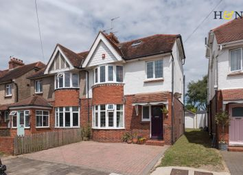 Thumbnail 4 bed property for sale in Cranmer Avenue, Hove